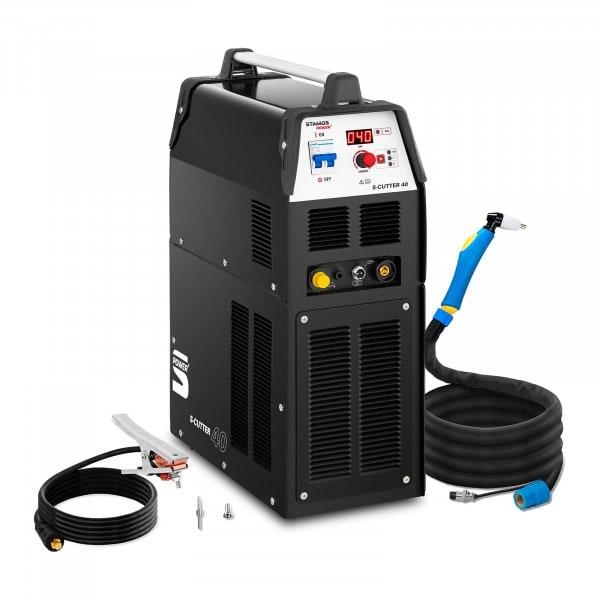 Plasmasnijder met compressor- 40 A - ED 60 % - digitaal - 230 V