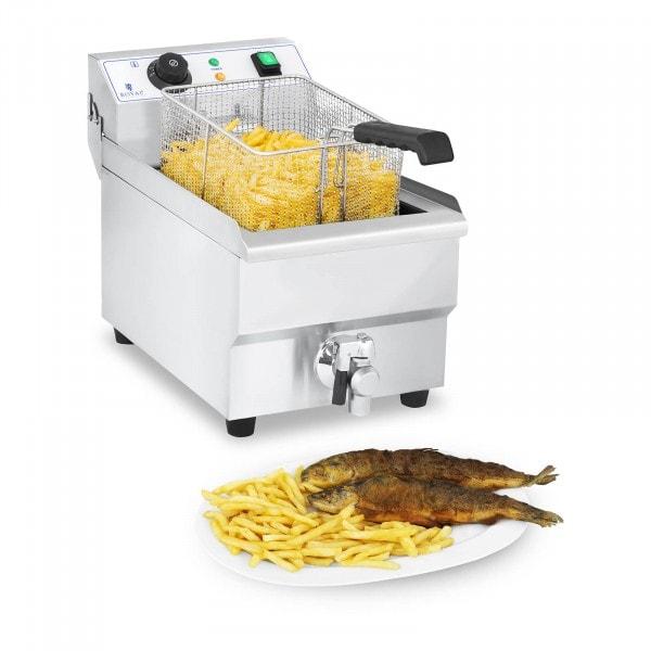 Elektro-friteuse - 10 liter met afvoerkraan