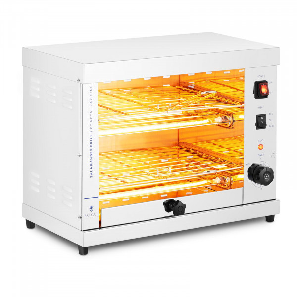 Salamander grill - 3.200 W - 65-200 ° C