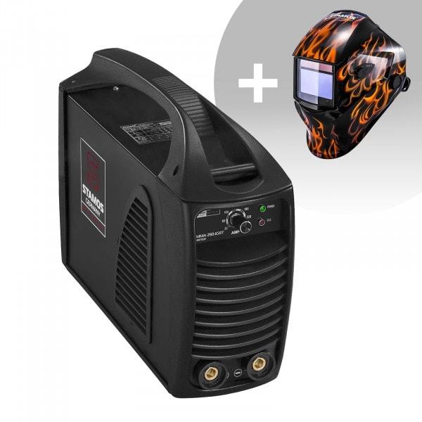 Elektroden lasapparaat – 250 A – 230 V IGBT + Lashelm – Firestarter 500 – ADVANCED SERIES
