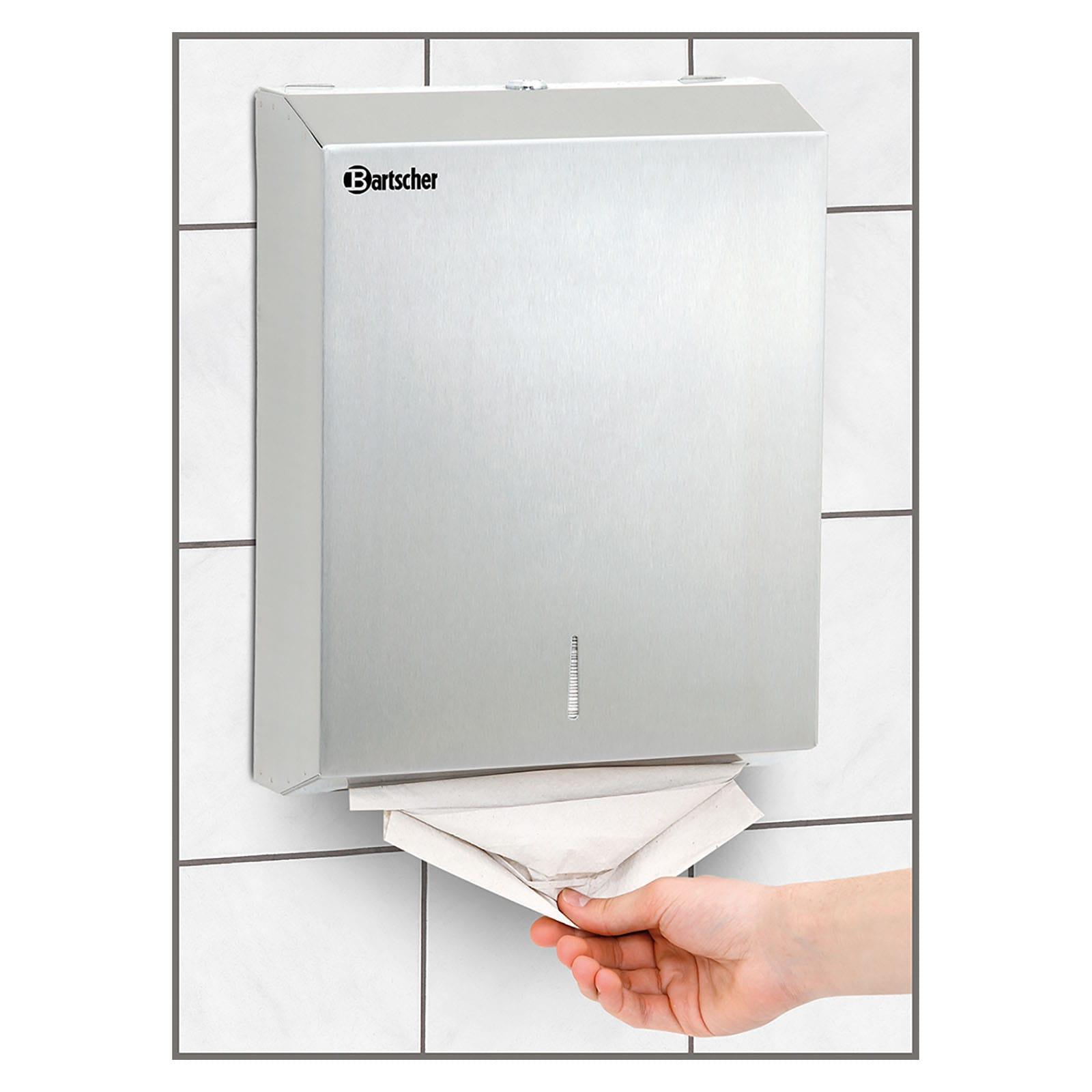 Papieren handdoekdispensers
