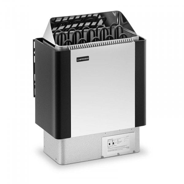 Tweedehands Saunakachel - 9 kW - 30 tot 110 ° C - roestvrijstalen keerplaat