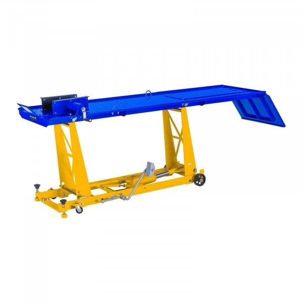 Motorlift met oprijplaat - 450 kg - 220 x 68 cm