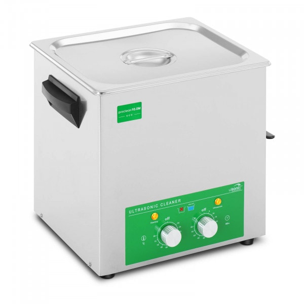 Ultrasoon reiniger - 10 liter - 180 W - Eco