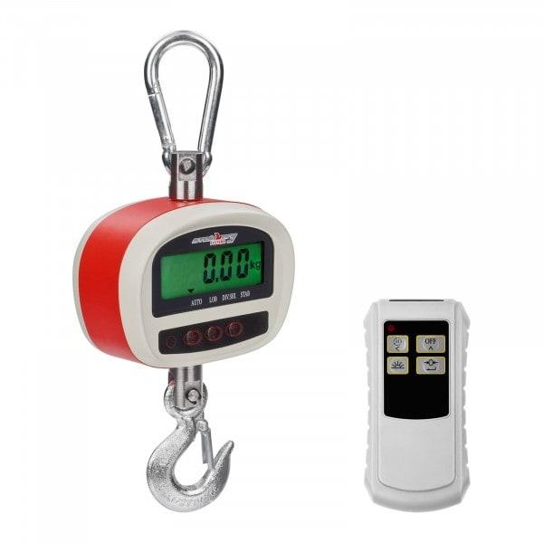 Kraanweegschaal - 300 kg / 50 g - LCD
