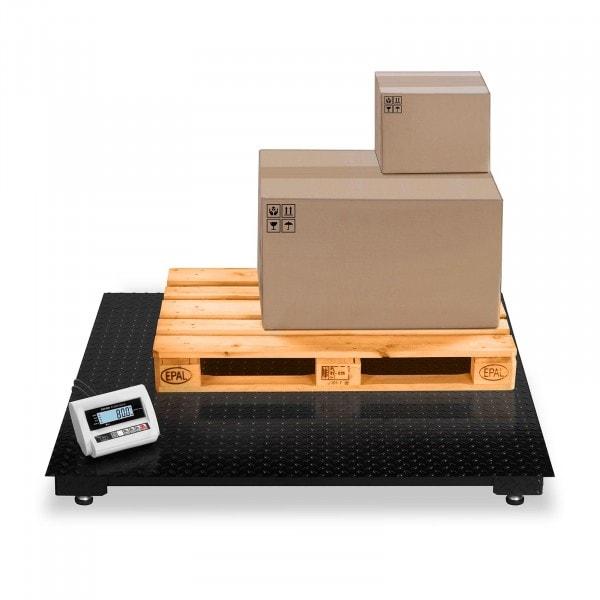 Vloerweegschaal - 3 t / 1 kg - LCD