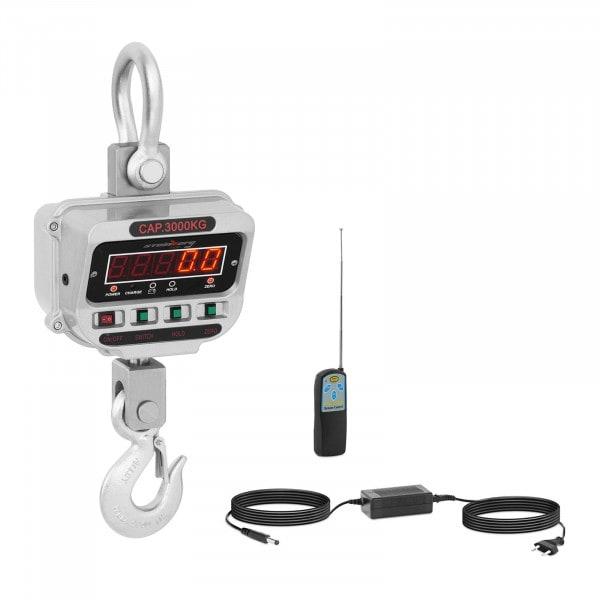 Kraanweegschaal - 3 t / 0,5 kg - LED