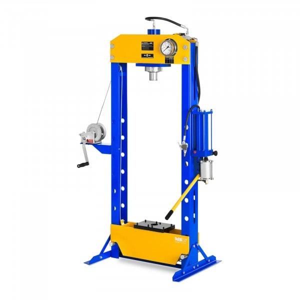 Werkplaatspers hydropneumatisch - 30 ton persdruk