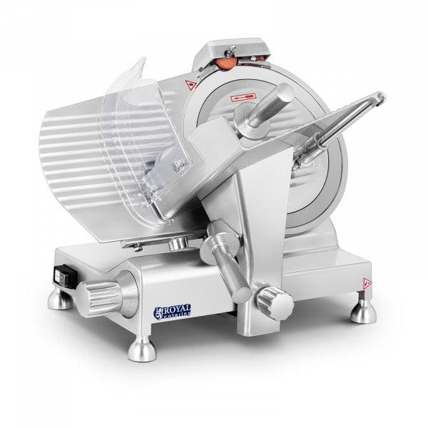 Vleessnijmachine - 300 mm - tot 15 mm - aluminium handgrepen