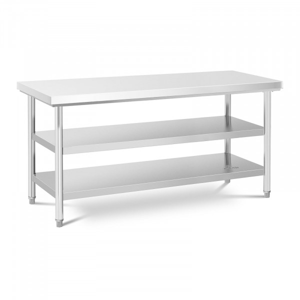 Roestvrijstalen tafel - cm - 600 kg - 3 niveaus